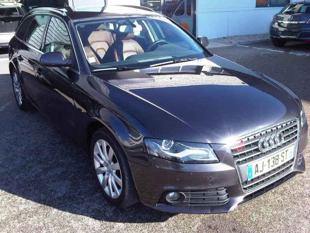 l 39 adresse auto audi a4 avant 2 0 tdi 143cv ambition luxe. Black Bedroom Furniture Sets. Home Design Ideas